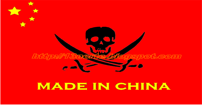 Piratería-China