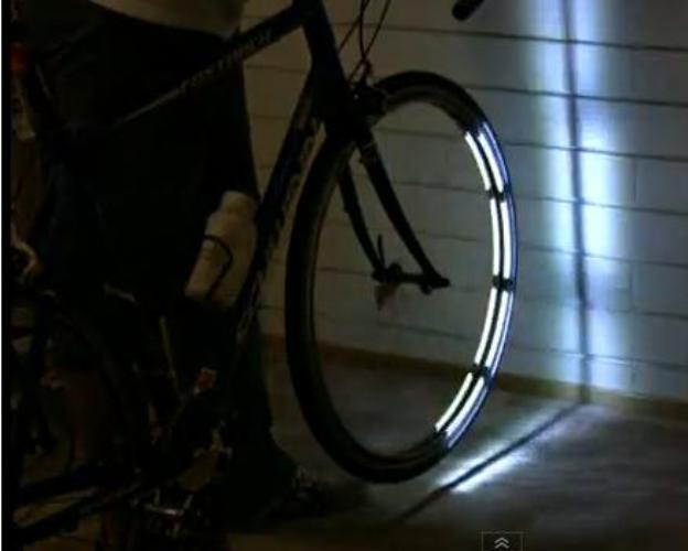 Invento Llantas luminosas