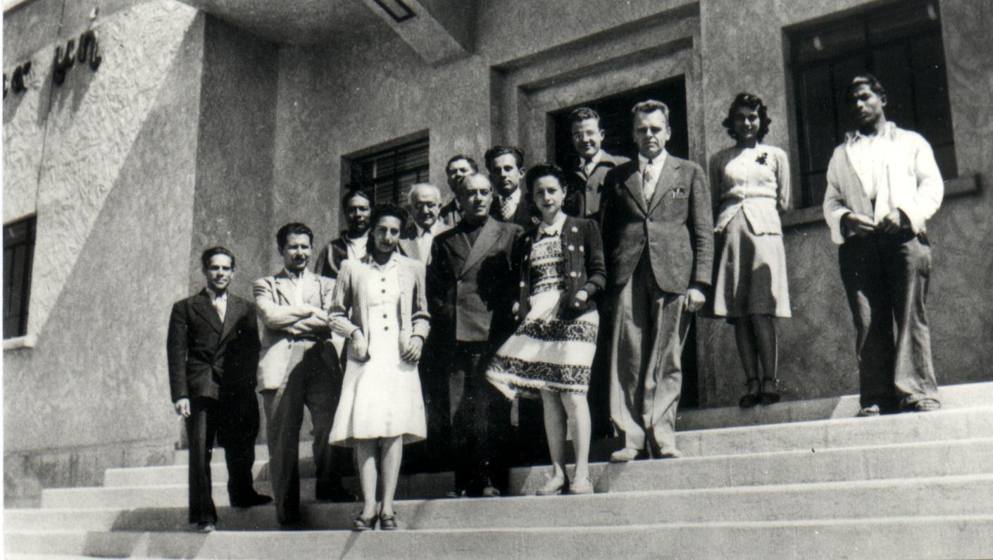 Pioneros, OANTON, 1942.