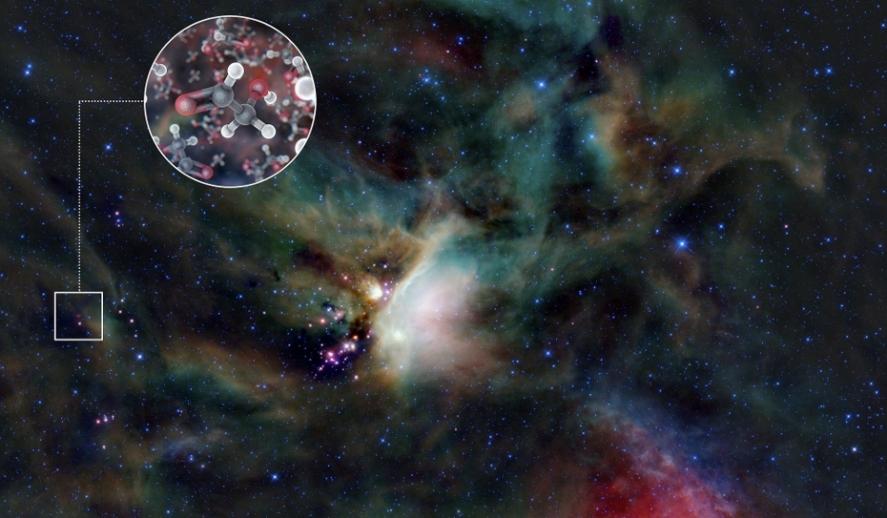Localiza la NASA azúcar alrededor de una estrella joven por primera vez