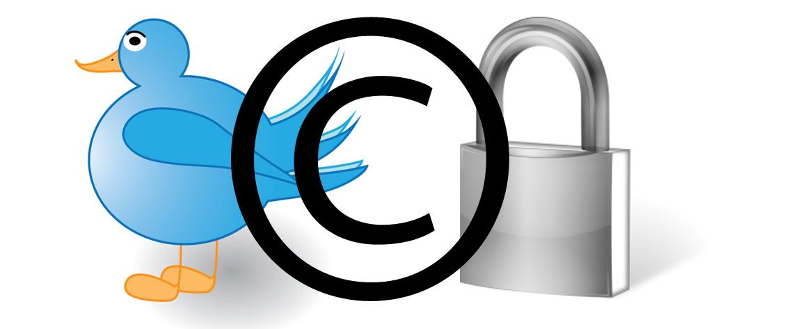 ¿Están los tweets protegidos por derecho de autor?