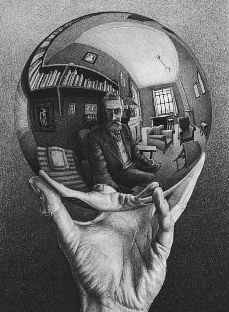 Subjetividad sinapsis M.C. Escher  13-02-2007