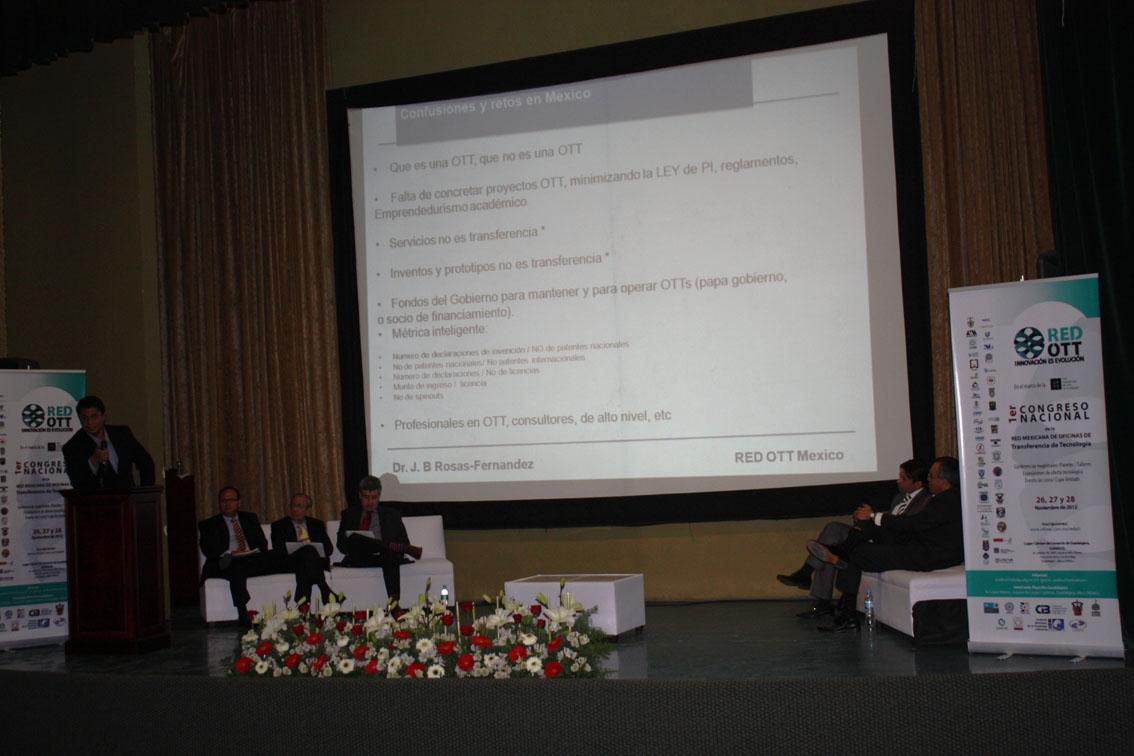 """Breve Reseña Primer Congreso Nacional """"Innovación es Evolución"""" de la Red Mexicana de Oficinas de Transferencia de Tecnología"""