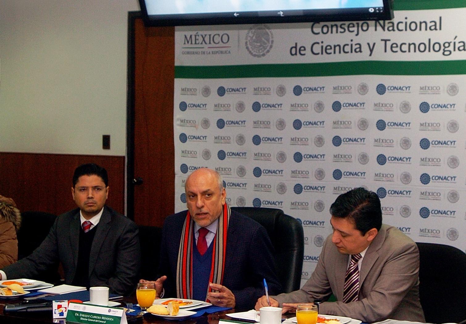 Apoya CONACYT a patentamiento con tres acciones: Dr Enrique Cabrero