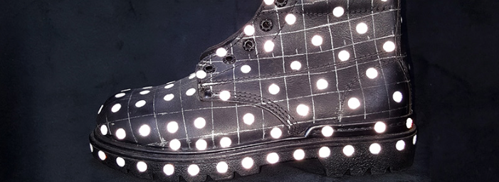 Crea Ciatec cuero reflectivo para calzado industrial