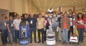 Por segundo año consecutivo, robot de servicio desarrollado por el INAOE gana el primer lugar en el Torneo Mexicano de Robótica
