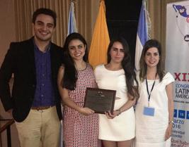 Estudiantes de la UP ganan en concurso de logística
