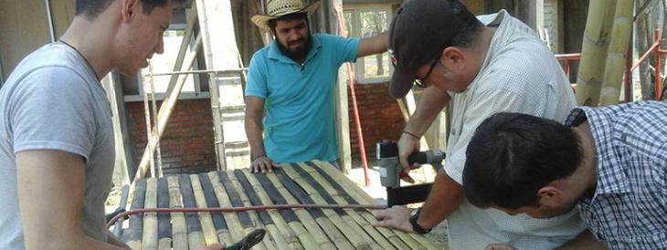 Impulsan arquitectura sustentable con bambú