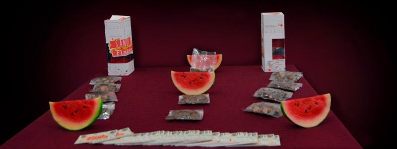 Presentan alumnos del IPN cereal a partir de la cáscara de sandía