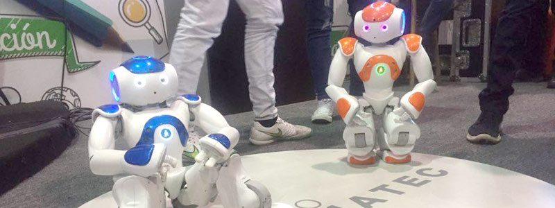 Muestran avances de robótica humanoide en México