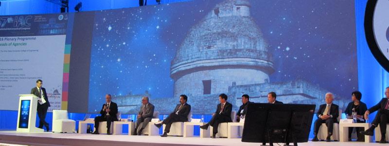 Cooperación internacional: ruta para la exploración espacial