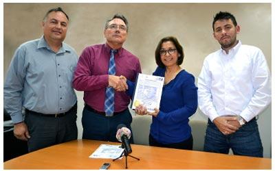 Universidad de Sonora recibe patente de dispositivo de medición en construcción