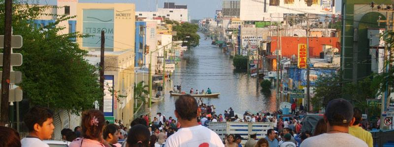 México y Reino Unido desarrollan modelo para predicción de inundaciones