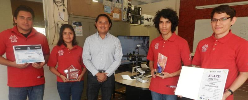 Equipo del INAOE participará en Torneo Internacional de Robótica