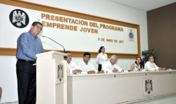 """Presentan en la UdeC programa piloto nacional """"Emprende Joven"""""""