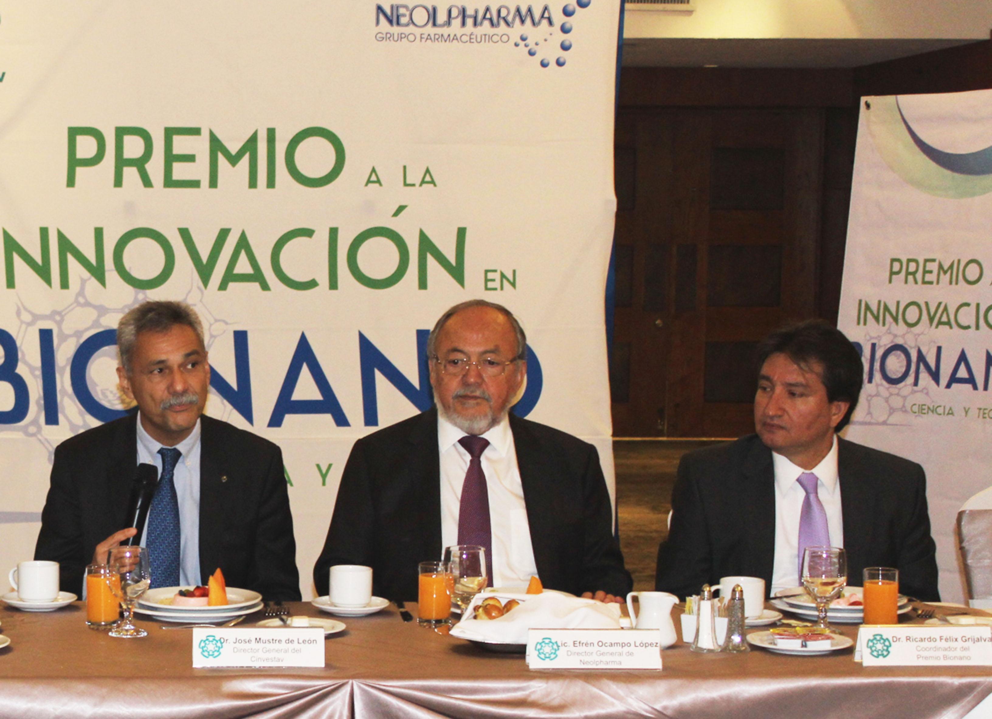 Lanzan Premio a la Innovación en Bionano