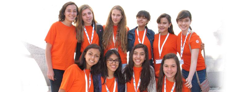Las pequeñas científicas de GE Girls Summer