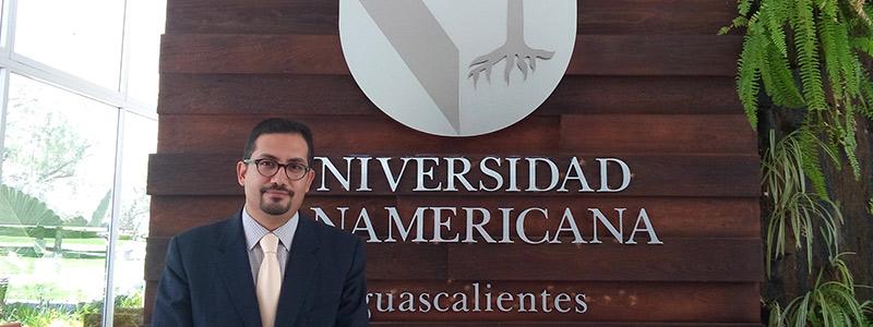 Ramiro Velázquez, apasionado por la robótica