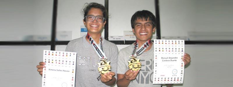 Triunfan mexicanos en concurso de robótica en China