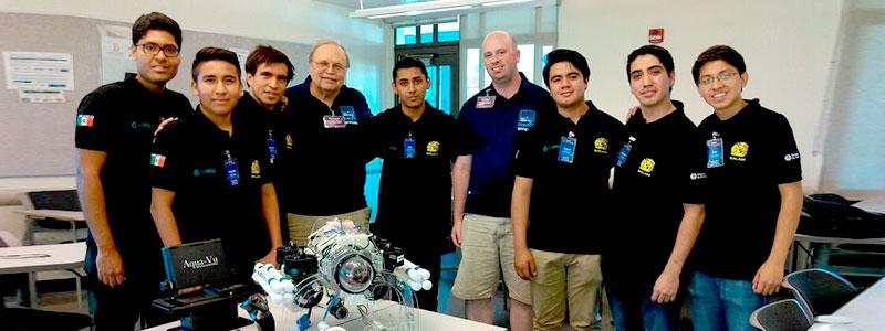 Estudiantes mexicanos conquistan la robótica submarina