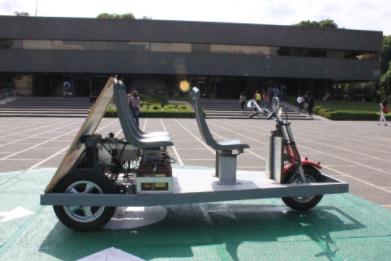 UPIICSA manufactura vehículo eléctrico que sustituiría a los bici y mototaxis