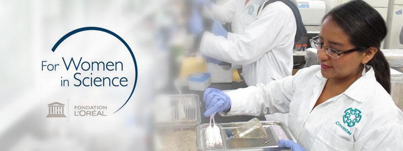 Abierta la convocatoria Becas para Mujeres en la Ciencia L'Oréal-Unesco-Conacyt-AMC