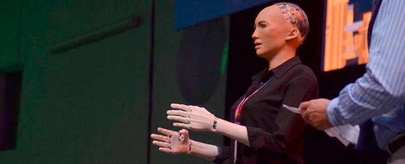 Sophia the Robot, huésped distinguida de Jalisco