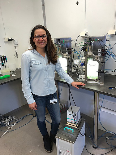 Investigadora mexicana logra en Noruega obtener de microalgas productos benéficos a la salud