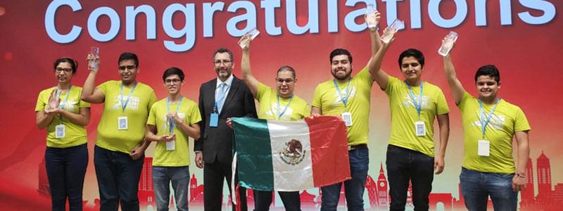 Estudiantes de Querétaro ganan tercer lugar en competencia tecnológica en China