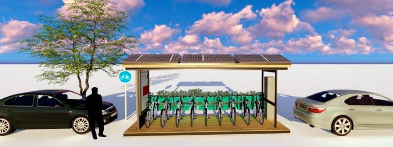 A pedalear con mucha energía… solar