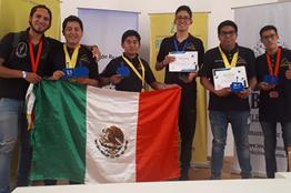 Triunfan politécnicos con 8 medallas en el Robot Games Zero Latitud
