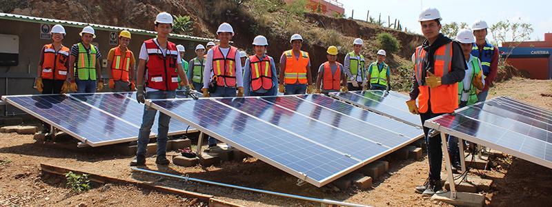 Energía solar en Oaxaca: limpia y portátil