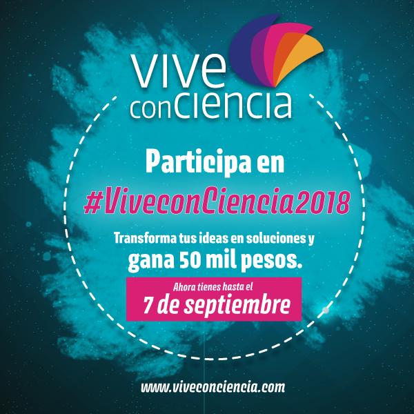Nueva fecha límite para registro en Vive conCiencia 2018