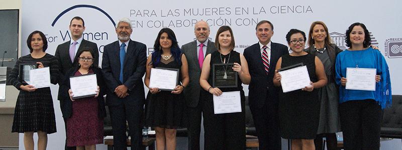 Reconoce premio L'Oréal-Unesco 2018 talento de científicas mexicanas