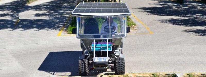 Vehículo terrestre basado en energías híbridas