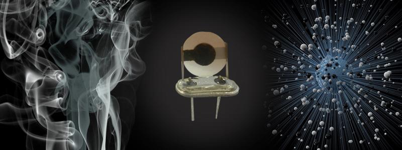 Nariz electrónica para identificar olores específicos