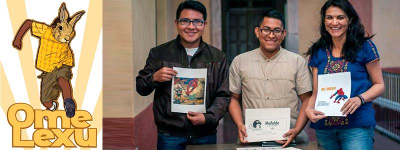 Superhéroes mexicanos fomentan el uso del zapoteco en niños