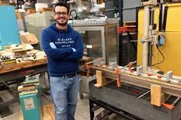 Estudiante UG destaca a nivel internacional con un proyecto para desarrollar cables superconductores
