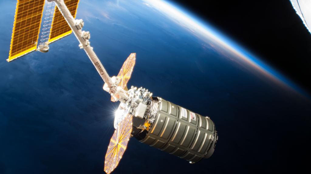 El Cygnus lleva a la Estación Espacial Internacional