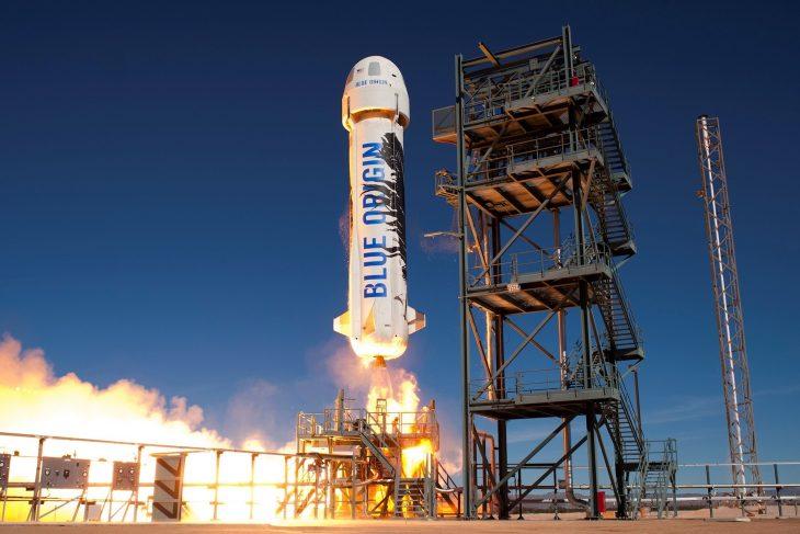 lanzamiento Blue Origin