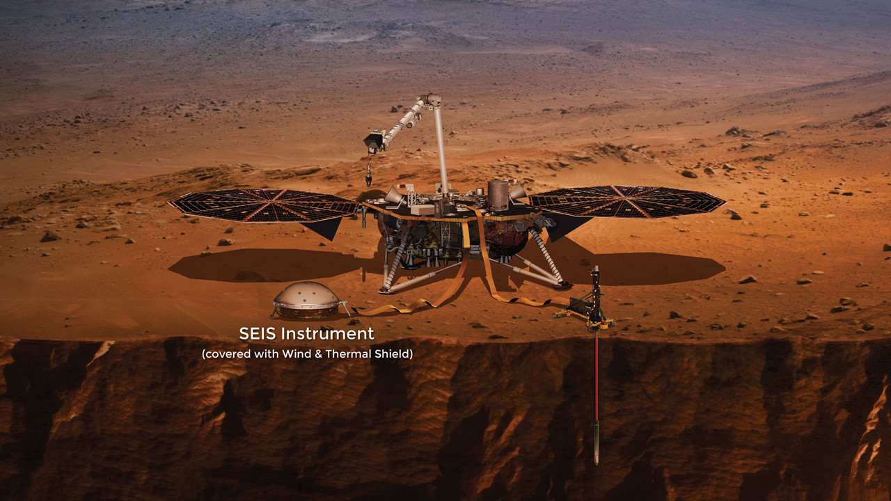 Módulo Mars InSigth Foto: NASA